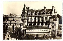 CPSM 37 Indre Et Loire Amboise Le Château Façade Principale - Amboise