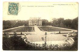 CPA 27 Eure Condé-sur-Iton Le Château - France
