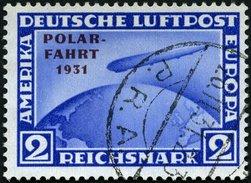 Dt. Reich 457 O, 1931, 2 RM Polarfahrt, Pracht, Mi. 260.- - Gebraucht