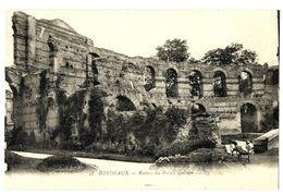 CPA 33 Gironde Bordeaux Ruines Du Palais Gallien - Bordeaux