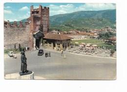 BASSANO DEL GRAPPA - MONUM. E PIAZZA AL GEN. GIARDINO - PORTA DELLE GRAZIE - VIAGGIATA FG - Vicenza