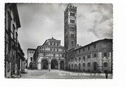 LUCCA PIAZZA E CHIESA DI S.MARTINO  VIAGGIATA FG - Lucca