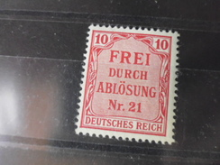 ALLEMAGNE   SERVICE  YVERT N°4** - Oficial