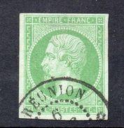 !!! PRIX FIXE : COLO GENERALES, N°8 OBLITERE CAD REUNION - Napoleon III