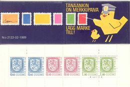 FINLAND, BOOKLET (Vending Machine Booklet), 1989 HA 19b Michel MH 22, Number 2122 - Finland