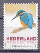 Nederland 2017 Persoonlijke Zegel Tarief Internationaal Thema:  IJsvogel, Kingfisher, Bird - Neufs