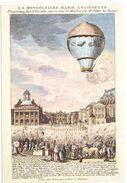 CPSM Le Vachez  Expérience Du 23 Juin 1784 Montgolfiere Marie Antoinette à Versailles - Balloons