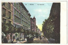 ROMA - Via Nazionale - Tramway - Transports