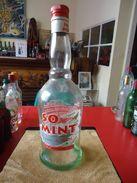Bouteille Sérigraphiée - SO MINT - Liqueur De Menthe - 700 Ml - Vide - - Spiritueux