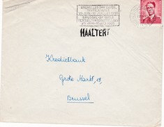 Boudewijn Met Bril . Handstempel HAALTERT - Entiers Postaux