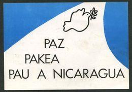 Nicaragua. *Conferencia Por La Paz En Nicaragua Y América Central* Nueva. - Nicaragua