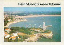 Carte  -    St Georges De Didonne -  Le Phare ,le Port Et La Plage      AX1137 - Saint-Georges-de-Didonne