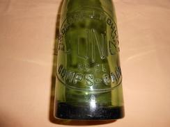 Bouteille Verre Vert Limonade Moulias - L'UNIC - Comps , Gard - - Soda
