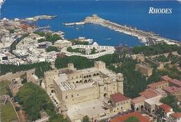 CPM.  RHODES . AFFR AU VERSO . 2 SCANES - Greece
