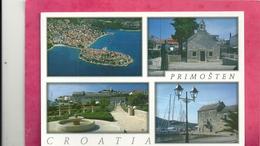 CPM.  CROATIA . MULTIVUES DE PRIMOSTEN . ECRITE AU VERSO - Croatie