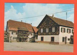 ET /135 STOTZHEIM HOTEL RESTAURANT AU LION D OR  R. METZ / écrite Timbre Poste - France