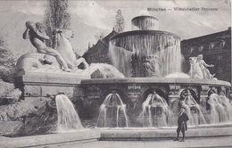 CPA  ALLEMAGNE MÜNCHEN Wittelsbacher Brunnen - München