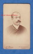 Photo Ancienne CDV Vers 1900 - PARIS - Portrait De Paul ARAGON - Photographe G. Blanc - Homme Pose Moustache - Photos