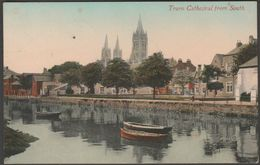 Truro Cathedral From South, Cornwall, 1915 - Valentine's Postcard - England