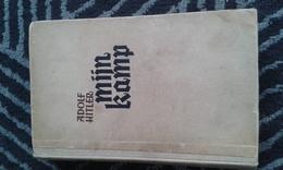 Mijn Kamp  -  Mein Kampf  -  Hitler  -  Gesigneerde Uitgave 1942 - Livres