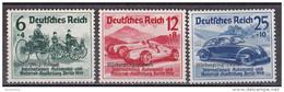 Mü_ Deutsches Reich - Mi.Nr.  695 - 697 - Postfrisch MNH - Deutschland