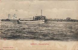 Afrique - Djibouti - Vue Prise Du Port - Canot - Très Rare - Dschibuti