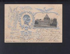 Dt. Reich AK Bismarck Mausoleum 1899 - Historische Figuren