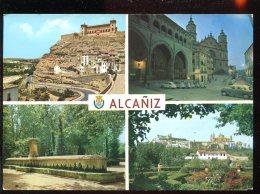 CPM Espagne ALCANIZ Multi Vues - Teruel