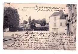 D066 -Crosnes S&O - Le Moulin Sur La Place Boileau - Demerson édit. - Crosnes (Crosne)