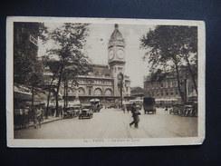 CPA - (75) - PARIS - LA GARE DE LYON - BELLE ANIMEE - TIMBREE 1933 -  R10007 - District 12