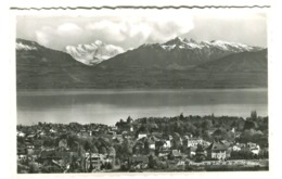 Panorama Morges Vrai Photo Env. 1920 - VD Waadt