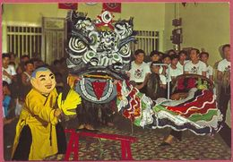 Collection-Singapore (UNC) Old 1975's Lion Dance - S ABDUL MAJEED+CO N° 025.82_267946 - Cpc - Singapore