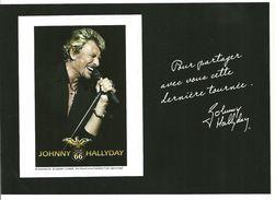 Vignette Adhésive Johnny Hallyday  1943/2017 - Francia