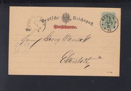 Dt. Reich PK 1875 Allgemeine Handelsgesellschaft - Briefe U. Dokumente