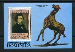 DOMINIQUE ( BLOC ) Y&T N°  92  BLOC  NEUF  SANS  TRACE  DE  CHARNIERE , A VOIR . - Dominique (1978-...)