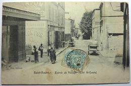 ENTRÉE DU VILLAGE (COTÉ St LOUIS) - SAINT ANDRÉ - Autres Communes