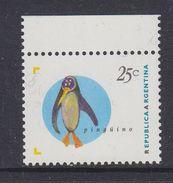 Argentina 1995 Antarctica / Penguin 1v ** Mnh (37173A) - Argentinië