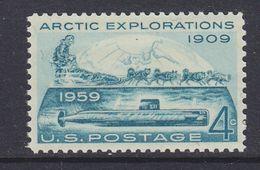 USA 1959 Arctic Explorations 1v ** Mnh (37173B) - Verenigde Staten
