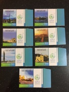 UAE Dubai And Abu Dhabi Landmarks Burj Khalifah MNH Stamps 2017 - United Arab Emirates