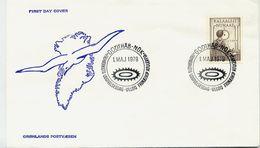 GREENLAND 1979 Internal Autonomy On FDC.  Michel 115 - FDC