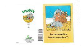 Double Cpm - Illustration Smudge Cliff By KES Tapette Piège Souris Rat Aveugle Canne - éléphant Au Dos - Humor