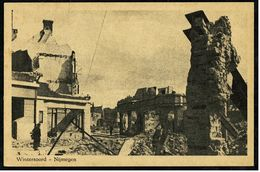 Wintersoord Nijmegen  -  ( Na Bombardement )  -  Ansichtskarte Ca. 1917 ?   (8008) - Nijmegen
