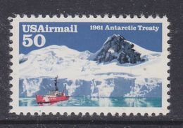 USA 1961 Antarctic Treaty 1v ** Mnh (37173E) Promotion - Ongebruikt