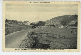 LA LOUVESC - Vue Générale Et Route De Saint Bonnet - La Louvesc