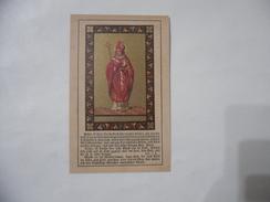SANTINO CROMO HOLY CARD S.WILFRID OF YORK VILFRIDO DI YORK. - Images Religieuses