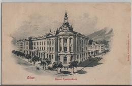 Chur - Neues Postgebäude - Künstlerkarte - GR Grisons