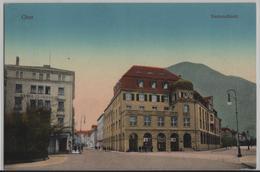 Chur - Kantonalbank - Animee - Photo: Guggenheim No. 9902 - GR Grisons