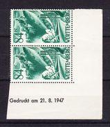 Wuerttemberg, Mi 12, Schloss Lichtenstein, Druckdatum 21.8.1947, Postfrisch (44397) - Zone Française