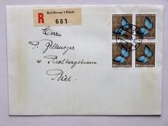 SUISSE / SCHWEIZ / SWITZERLAND // 1952, R - FDC Mit 30Rp. 4er Block PRO JUVENTUTE 1952, Gelaufen BIEL 1.XII.52 - Pro Juventute