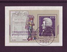 Germania 1991 - Mozart BF25 Con Annullo Rotondo - [7] Repubblica Federale